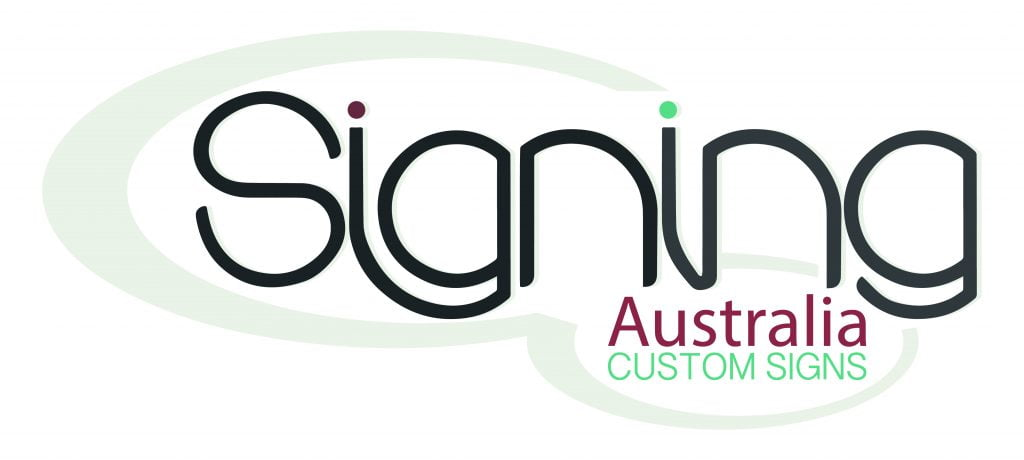 Sign Aus Print Rectanglex4